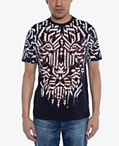 3fb3ae9ac0b5 Sean John Men s Calligraphy Lion Graphic T-Shirt