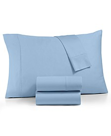 AQ Textile Optimal Performance Stay fit 4-Pc King Sheet Set, 625 Thread Count Cotton Blend