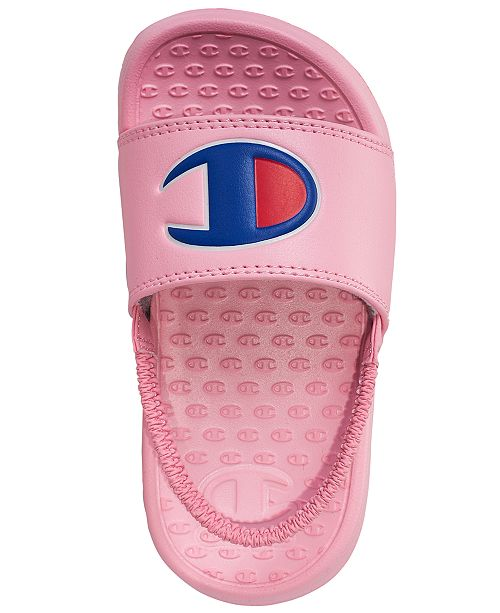 129aa13b10624 Champion Toddler Girls  Super Slide Sandals from Finish Line ...