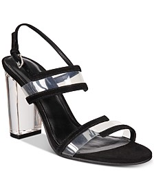 Marc Fisher Outcry Vinyl Sandals