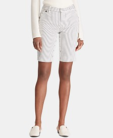 Lauren Ralph Lauren Petite Slim Fit Shorts