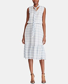 Lauren Ralph Lauren Petite Gingham Dress