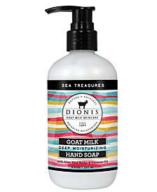 Goat Milk Hand Soap, Sea Treasures, 8.5 oz.