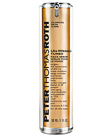 Peter Thomas Roth Un-Wrinkle Turbo Face Serum, 1.0 fl. oz.