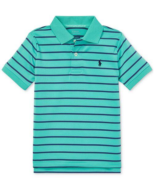 Polo Ralph Lauren Little Boys Performance Lisle Polo Shirt
