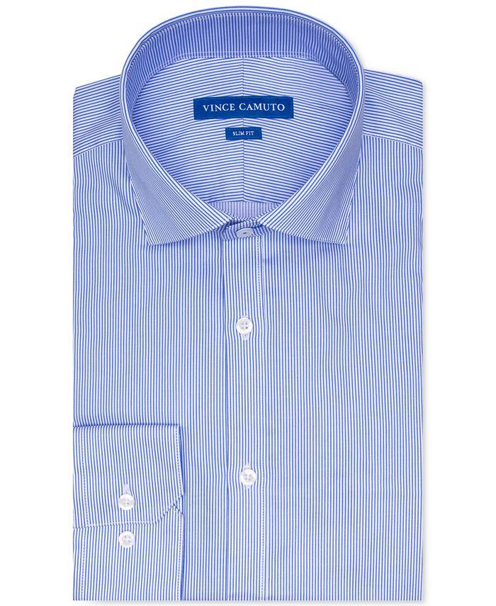 Vince Camuto - Men's Slim-Fit Dress Shirt