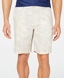 "Men's Tiki Luau 10"" Linen Shorts"