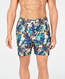 "Tommy Bahama Men's Naples Zocca Fronds Printed 6"" Swim Trunks"