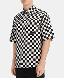 Calvin Klein Jeans Men's Checkerboard Shirt