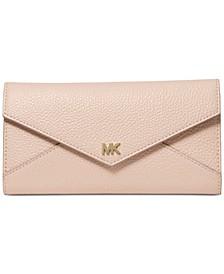 Slim Envelope Trifold Leather Wallet
