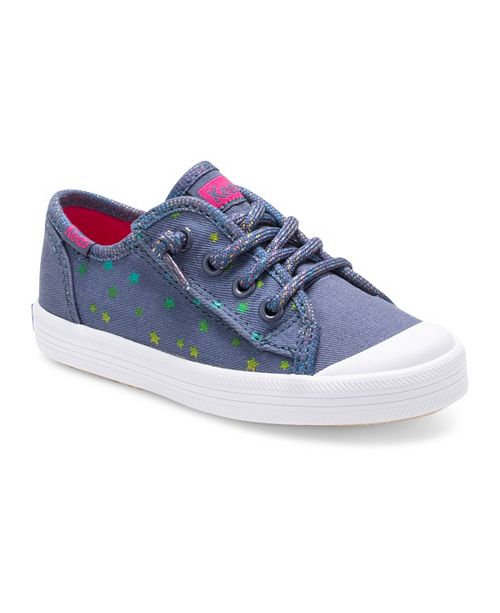 Keds Toddler & Little Girls Kickstart Toe Cap Jr. Sneaker