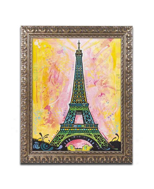 "Trademark Global Dean Russo 'Eiffel ALI' Ornate Framed Art - 14"" x 11"" x 0.5"""