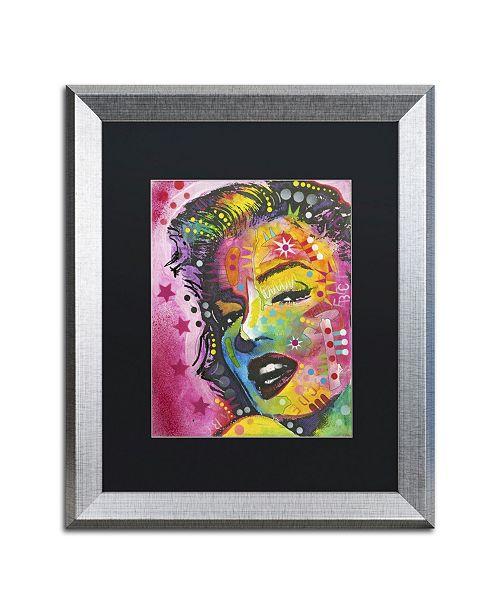 """Trademark Global Dean Russo '017' Matted Framed Art - 20"""" x 16"""" x 0.5"""""""