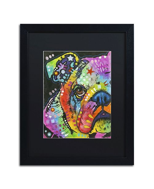 "Trademark Global Dean Russo 'What you lookin at' Matted Framed Art - 16"" x 20"" x 0.5"""