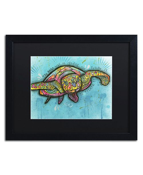"Trademark Global Dean Russo 'Turtle' Matted Framed Art - 16"" x 20"" x 0.5"""