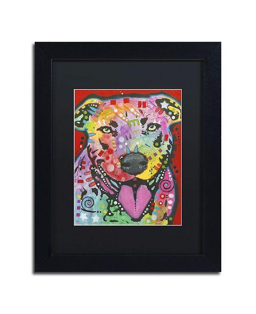 """Trademark Global Dean Russo '03' Matted Framed Art - 11"""" x 14"""" x 0.5"""""""