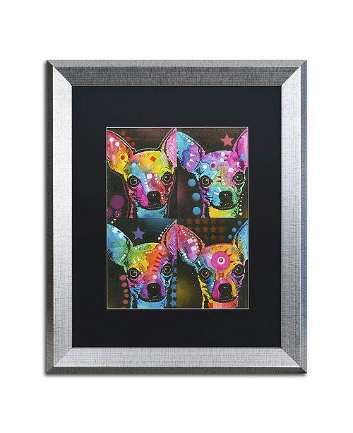 """Trademark Global Dean Russo '11' Matted Framed Art - 20"""" x 16"""" x 0.5"""""""