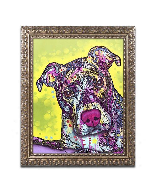 "Trademark Global Dean Russo 'Brindle' Ornate Framed Art - 14"" x 11"" x 0.5"""