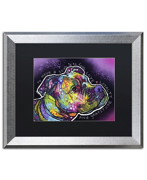 "Trademark Global Dean Russo 'Soul' Matted Framed Art - 20"" x 16"" x 0.5"""