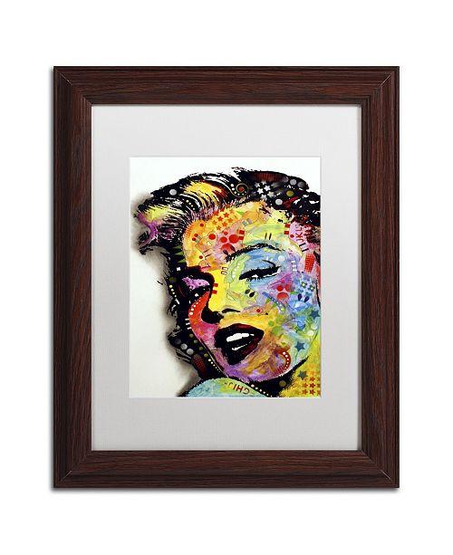 "Trademark Global Dean Russo 'Marilyn Monroe II' Matted Framed Art - 14"" x 11"" x 0.5"""
