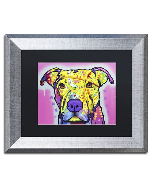 """Trademark Global Dean Russo 'Focused Pit' Matted Framed Art - 14"""" x 11"""" x 0.5"""""""