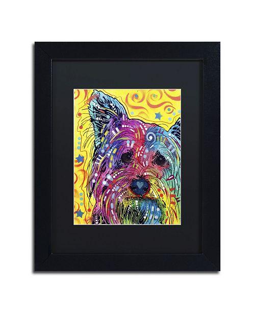 "Trademark Global Dean Russo 'York I' Matted Framed Art - 11"" x 14"" x 0.5"""