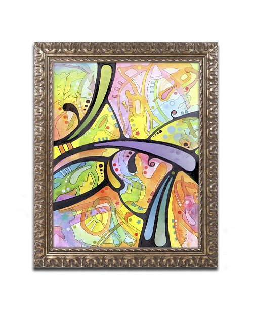 "Trademark Global Dean Russo 'Abstract' Ornate Framed Art - 14"" x 11"" x 0.5"""