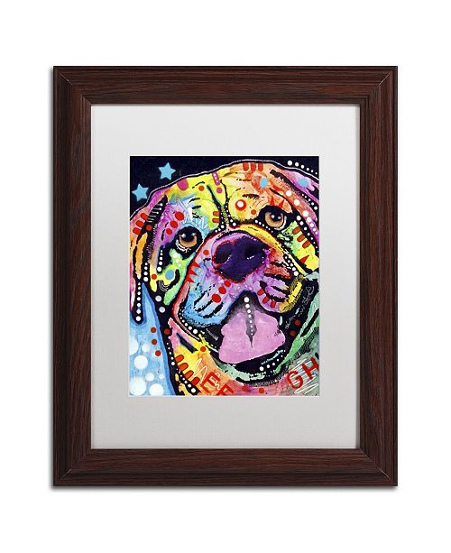 "Trademark Global Dean Russo 'Bosco' Matted Framed Art - 14"" x 11"" x 0.5"""