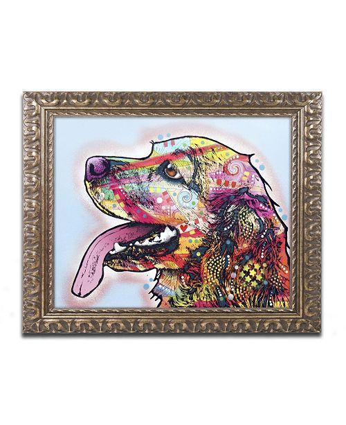 """Trademark Global Dean Russo 'Cocker Spaniel' Ornate Framed Art - 14"""" x 11"""" x 0.5"""""""