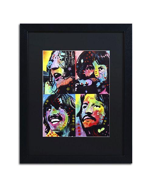 """Trademark Global Dean Russo 'Beatles' Matted Framed Art - 16"""" x 20"""" x 0.5"""""""