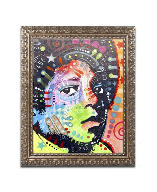 "Trademark Global Dean Russo 'Michael Jackson' Ornate Framed Art - 14"" x 11"" x 0.5"""