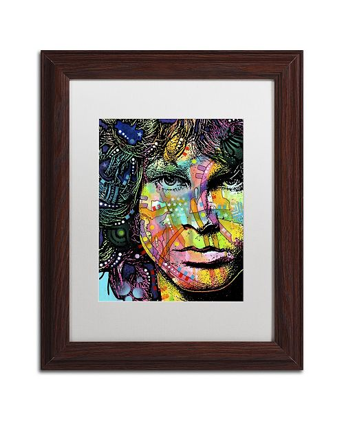 "Trademark Global Dean Russo 'Jim' Matted Framed Art - 14"" x 11"" x 0.5"""