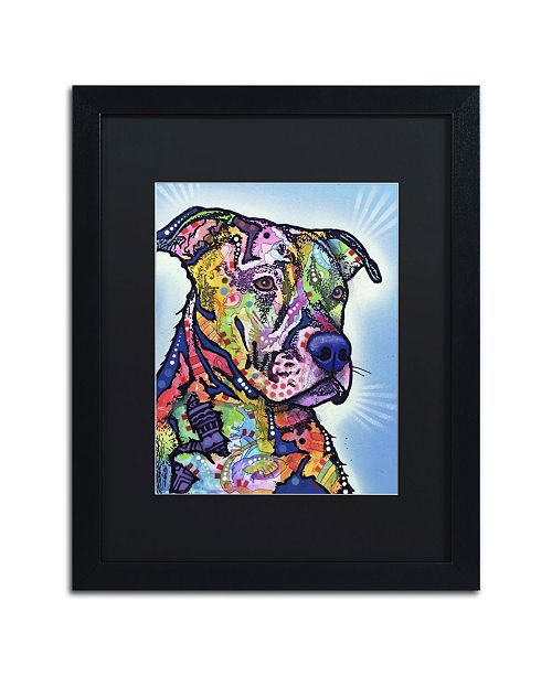 """Trademark Global Dean Russo 'Deacon' Matted Framed Art - 16"""" x 20"""" x 0.5"""""""