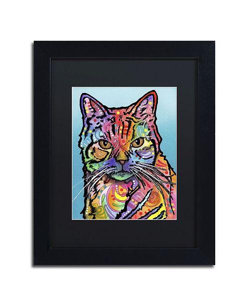 """Trademark Global Dean Russo 'Jones' Matted Framed Art - 11"""" x 14"""" x 0.5"""""""
