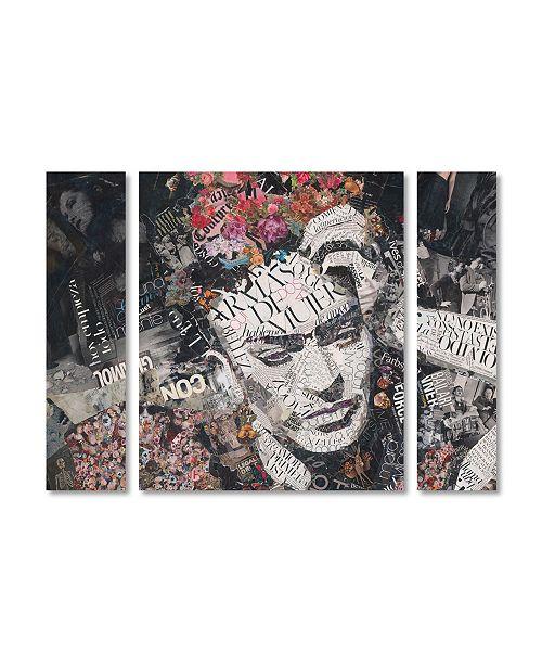 "Trademark Global Ines Kouidis 'Armas de Mujer' Multi Panel Art Set Large - 41"" x 30"" x 2"""