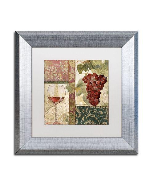 "Trademark Global Color Bakery 'Sofia I' Matted Framed Art - 11"" x 0.5"" x 11"""