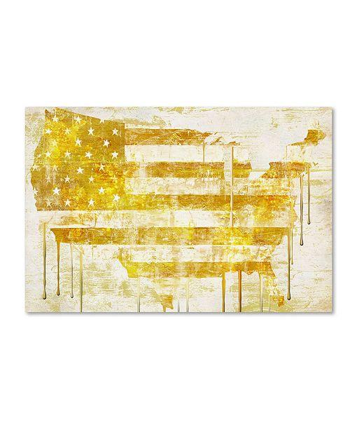 "Trademark Global Color Bakery 'American Dream I' Canvas Art - 47"" x 2"" x 30"""