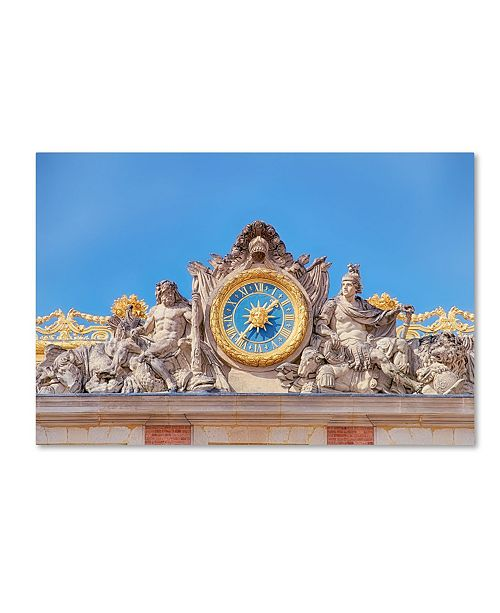 "Trademark Global Cora Niele 'Palace Of Versailles III' Canvas Art - 19"" x 12"" x 2"""