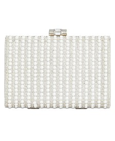 I.N.C. Jennyfer Imitation-Pearl Clutch, Created for Macy's