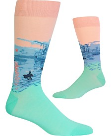 Hot Sox Men's Socks, Monet Impression