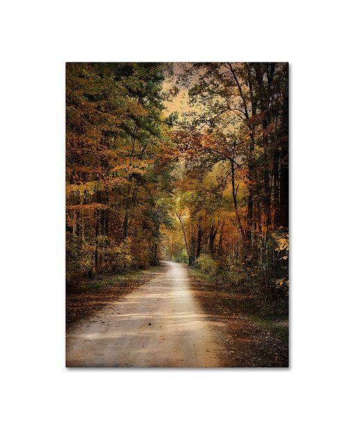 "Trademark Global Jai Johnson 'Autumn Forest 3' Canvas Art - 47"" x 35"" x 2"""