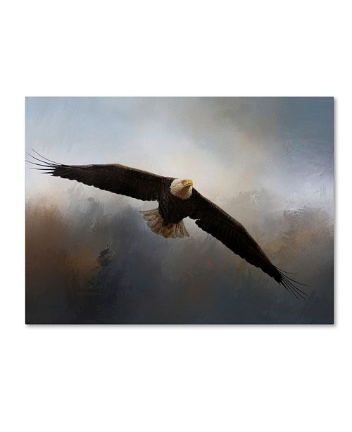 """Trademark Global Jai Johnson 'In The Midst Of The Storm' Canvas Art - 19"""" x 14"""" x 2"""""""