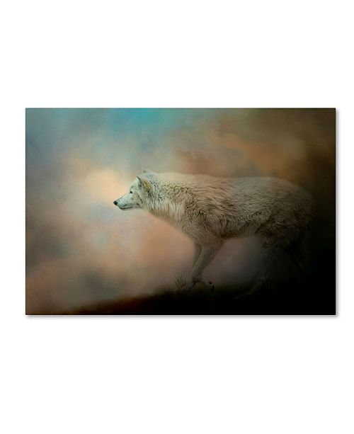 "Trademark Global Jai Johnson 'Journey Of The Timber Wolf' Canvas Art - 24"" x 16"" x 2"""