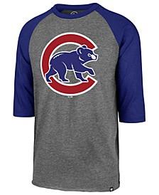 Men's Chicago Cubs Throwback Club Raglan T-Shirt
