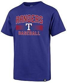 '47 Brand Big Boys Texas Rangers Rival Slugger T-Shirt