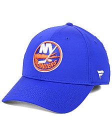Authentic NHL Headwear New York Islanders Basic Flex Stretch Fitted Cap