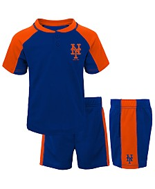 Outerstuff Toddlers New York Mets Play Strong Short Set