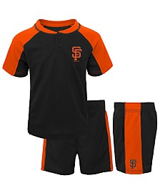 Outerstuff Baby San Francisco Giants Play Strong Short Set