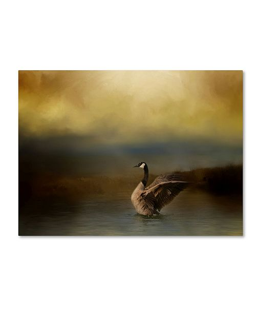 "Trademark Global Jai Johnson 'Autumn Afternoon Splash' Canvas Art - 32"" x 24"" x 2"""