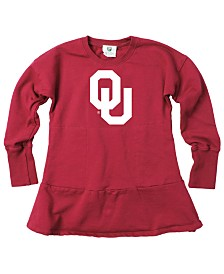 Wes & Willy Little Girls Oklahoma Sooners Fleece Dress